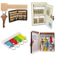 Key Storage, Key Cabinets and Key Organizers