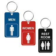 Mini Restroom Key Tags
