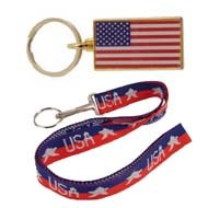 Patriotic and Armed Forces Key Chains