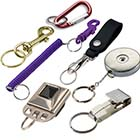 Belt Key Holders and Key Rings