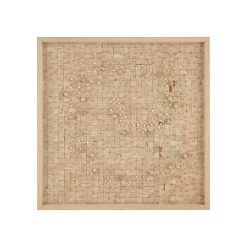 """Dimond Home 3168-058 Culture 39-3/8"""" x 39-3/8"""" Shadow Box"""