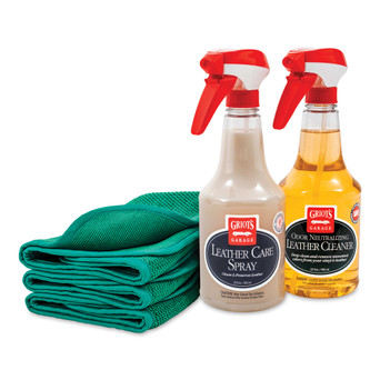 Leather Care Spray Kit