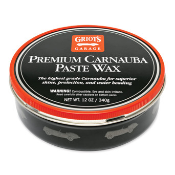 Premium Carnauba Paste Wax, 12 Ounces