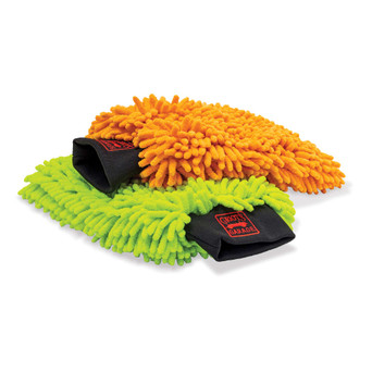 Microfiber Wash Mitts, Set of 2