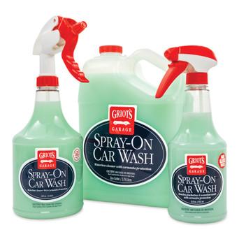 Spray-On Car Wash