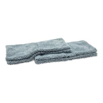 Microfiber Plush Edgeless Wash Cloths, Set of 2