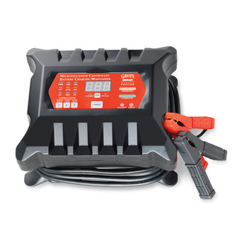 Microprocessor-Controlled Battery Charger/Maintainer