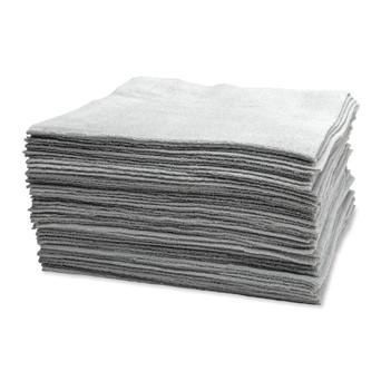 Microfiber Edgeless Utility Towels, Set of 50