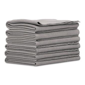 Microfiber Edgeless Towels, Set of 6