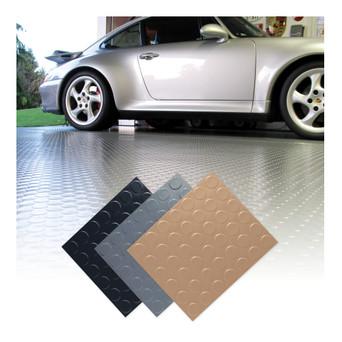 Coin Top Garage Floor Mat