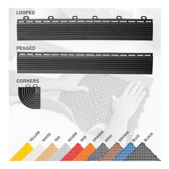 Swisstrax Pro Floor Tile Edge & Corner