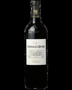 Château de la Rivière - Fronsac 2014 - Bottle front