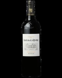 Château de la Rivière - Fronsac 2015 - Bottle front