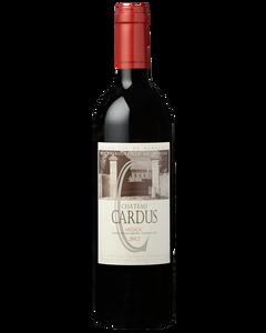 Château Cardus 2012 - Bottle front