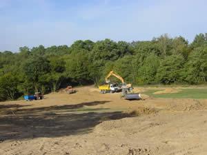 Preparation takes shape, October 2003