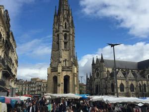 St.Michel market in Bordeaux