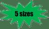 G-5261 Graphic 5 Sizes