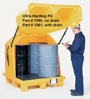 Ultratech Hard Top P4 Spill Pallet