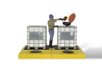 Ultratech IBC Spill Pallet, Modular Model