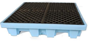Ultratech Spill Pallet, Fluorinated Nestable Model (American Made)