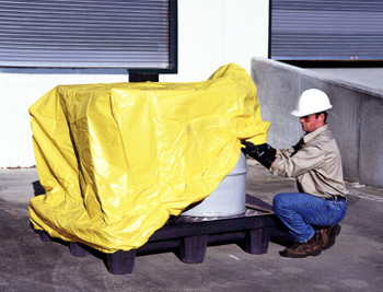 Ultra Spill Pallet, Economy Model - Pullover Cover (American Made)