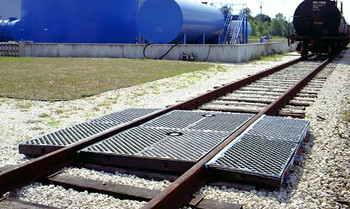 Ultra-Track Pan, Crude Oil Model, Side Pan With Grate