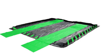 Containment Berm Ground Tarp 11' x 11': For all 4' x 6', 6' x 6', and 10' x 10' Containment Berms