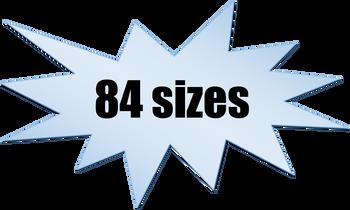 Hi Vis Nylon Web Sling Type 4 Eye & Eye Twist (EE1) 1 Ply  (American Made)