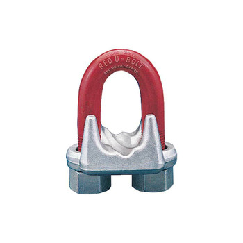 G-450 Crosby Red-U-Bolt Forged Wire Rope Clip (USA)