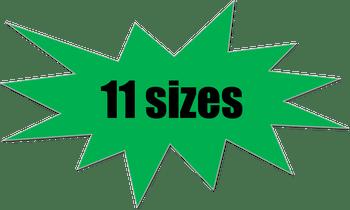 G-4161 Graphic 11 Sizes