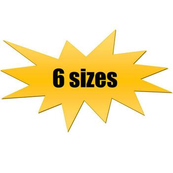 P-6033 Graphic 6 Sizes