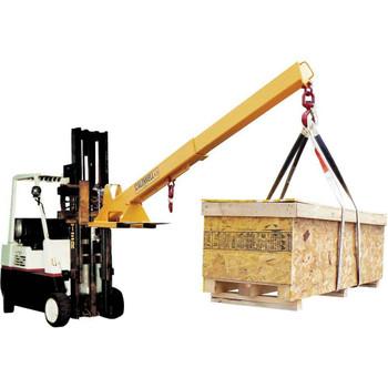 12 Ton Capacity Caldwell 416-1//2-3 Composite Adjustable Spreader Lifting Beam 3 Hook Spread