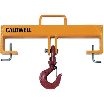 Model 10 Lif-Truc Double Fork Lift Beam w/Single Swivel Hook (a Caldwell Brand)