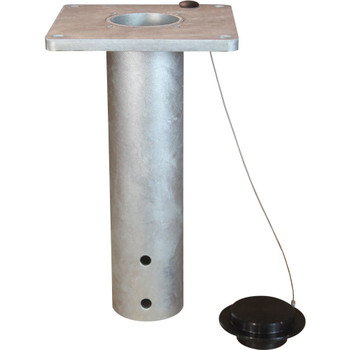 5BF5G First Mate Flush Mount Socket Base Galvanized (a Thern Brand)