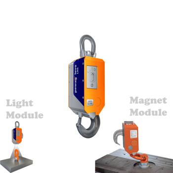 LH5 pewag levo hook LH 5t Basic with Magnet & Light Module  01