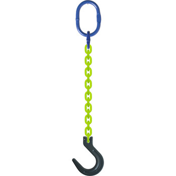 SOF High Visibility Alloy Chain Sling by all-Aloy a Western Sling Company Brand