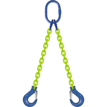 DOS High Visibility Alloy Chain Sling by all-Aloy a Western Sling Company Brand