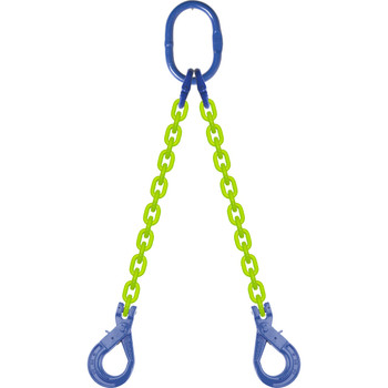 DOSL High Visibility Alloy Chain Sling by all-Aloy a Western Sling Company Brand