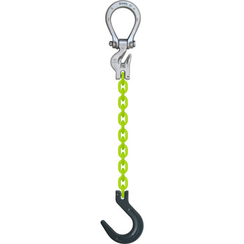 ESOF High Visibility Alloy Chain Sling by all-Aloy a Western Sling Company Brand