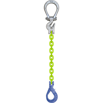 ESOSL High Visibility Alloy Chain Sling by all-Aloy a Western Sling Company Brand