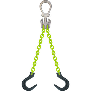 EDOF High Visibility Alloy Chain Sling by all-Aloy a Western Sling Company Brand