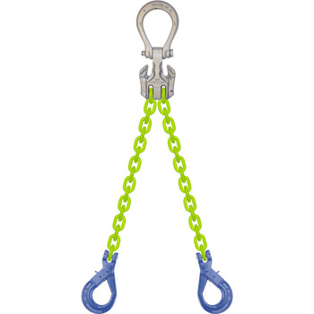 EDOSL High Visibility Alloy Chain Sling by all-Aloy a Western Sling Company Brand