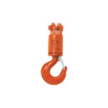 S-1 Swivel Jaw & Hook with Tapered Roller Thrust Bearing by Crosby