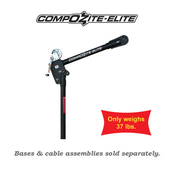Carbon Fiber Elite Davit Crane by OZ Lifting Products