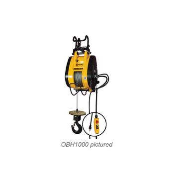 500 lb. Hoist by OZ Electric Series Builders