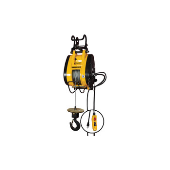 1000 lb. Hoist by OZ Electric Series Builders