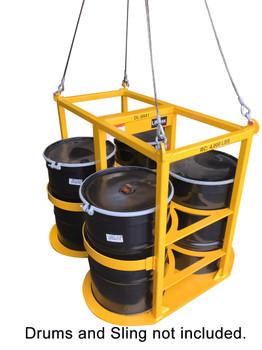 DL-8841 Quad 55 Gallon Drum Lifter