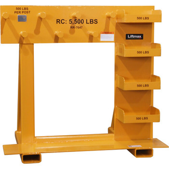 "RR-7647 5'-4"" x 4' Rigging Rack"