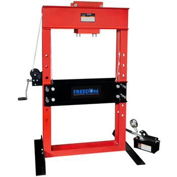 HPA506 50 Ton Capacity Air/Hydraulic Pump Operated Press