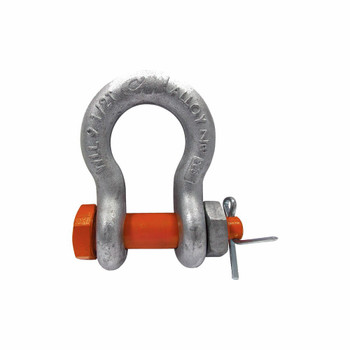Alloy Bolt, Nut & Cotter Galvanized Anchor Shackle by CM